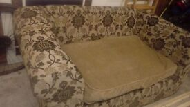 Free to collect. Lovely, well-made, sofa