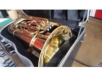 Tuba Corton by Amati w/Mouthpiecec 35cm Diameter 17cm Bore Trumpet Family