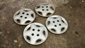 "Citreon Saxo 14"" Genuine Wheel Trims."