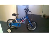 A kids' bicycle Ridgeback , MX14 terrain,in good condition