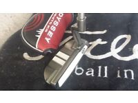 """Odyssey White Ice 330 Mallet putter, 34"""" good condition used by GMAC"""