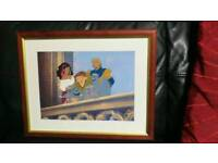 Disney Store Exclusive Lithograph framed picture 1997