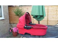 Quinny dreami carrycot for buzz/moodd /speedi / Red