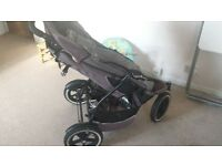 DOUBLE PHIL&TED pushchair in good condition