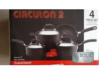 Saucepan set (Unused and boxed as new)