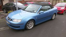 SAAB 9-3 Convertible 1.9 TID cerulean blue for sale
