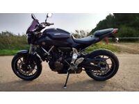 Yamaha MT07 2014 non ABS