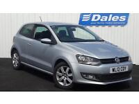 Volkswagen Polo Match 1.2 TDI 3dr (silver) 2012