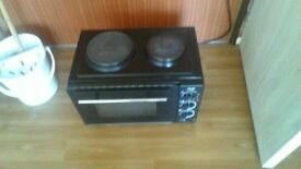 uno mini oven with hobs