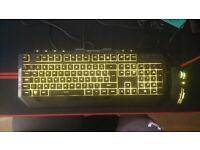 Cooler Master Devastator 3 Gaming RGB keyboard + mouse