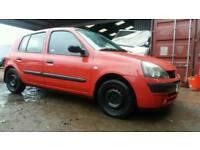 Renault clio 1.4 automatic 2005/05 80k 5 door red