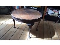 Vintage wooden coffee table.