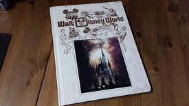Walt Disney World Book and Epcot Center Magazines