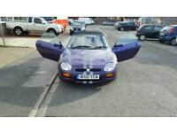 MG MGF 1.8i 2d, Soft top convertible, 1996 (N Reg), 96,000 Miles, Manual, Petrol, MOT until Apr 17