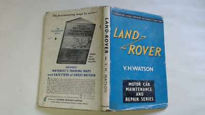 Acceptable - Land-Rover - V. H. Watson 1961-01-01 - Watson Ltd Modeschmuck
