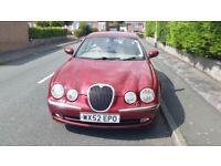 Jaguar, S-TYPE, Saloon, 2002, Other, 2967 (cc), 4 doors. Automatic.