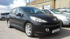 **FOR BREAKING** 2009 Peugeot 207 (choice of four).