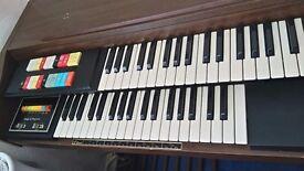 Hammond electric two keyboard organ