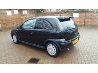 2005 Vauxhall Corsa SXI 1.4, manual, 1 year MOT, Low millage, good condition