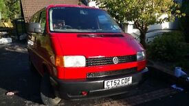 2003 vw t4, 1.9TD new mot, 104,000 miles, tailgate, electric windows, central locking, just serviced