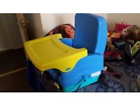 Booster seat( foldable for travel)