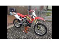 Honda cr 250 02 model