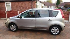 Nissan Note SE Automatic - only 25000 miles