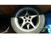 Set of 4. 205/50/16 Alloy wheels for Toyota celica 7ht gen.
