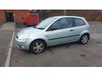 FORD FIESTA ZETEC TDI 3 DOOR HATCH 2003 53 PLATE