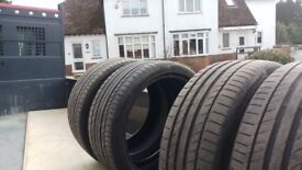 4 Tyres nearly new