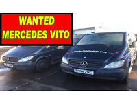 MERCEDES SPRINTER & MERCEDES VITO ANY MODEL !!! WANTED!!!