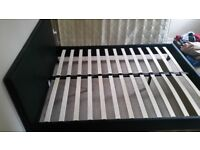 Reduced Lovely Chocolate King Bed For Sale