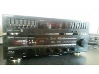 Denon amplifier tuner and sony graphic equalizer