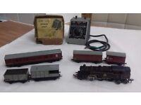 1950s Meccano Hornby Dublo train set