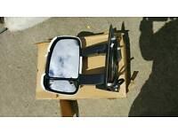 Motorhome wing mirrors