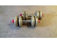 Dumbells pair of 4.4lb weights