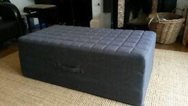 Foldaway double bed