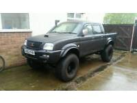 mitsubishi L200 4x4 Monster. Pickup Truck