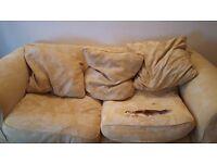 Free to take sofa