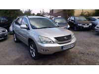 LEXUS RX 300 SE AUTOMATIC 5drs **FULL LEATHERS**SAT NAVIGATION** REVERSE CAMERA**IDEAL FOR EXPORT**