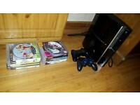 PS3 Playstation 3 with 12 games, headset and 2 controllers (GTA V)