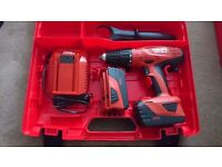 Hilti SFH-22A Cordless Combi Drill with 2 batteries new