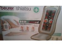 Beurer heated shiatsu massage seat cover. £25.00