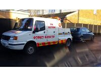 24/7 CAR RECOVERY COVERING PETERBOROUGH & SURROUNDING AREAS
