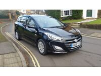 2015 HYUNDAI I30 1.6 CRDI S BLUE DRIVE 6 SPEED MANUAL ESTATE BLACK 1 OWNER FULL SERVICE HISTORY 2 KE