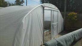 Pool cover / polytunnel