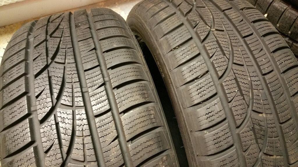 205 50 17 93V 2 x tyres Hankook Winter i*cept Evo M+S W310