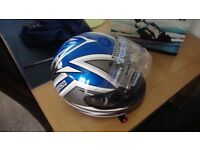 MOTORCYCLE HELMET NEW AND BOXED XXL