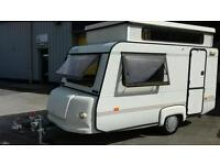 Rapido pop top caravan in excellent condition inside and out