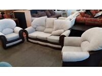 Modern sofa and two armchairs